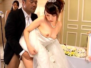 SEX観が異常な結婚式☆