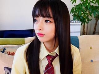 韓国ハーフ美少女をハメ撮り!