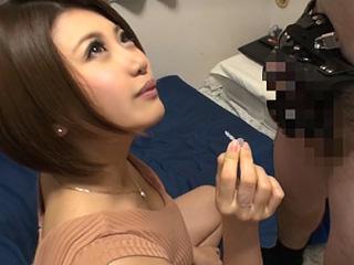 爆乳痴女がM男宅訪問!!