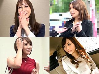 ナンパ人妻ガチ中出し⑮連発!!