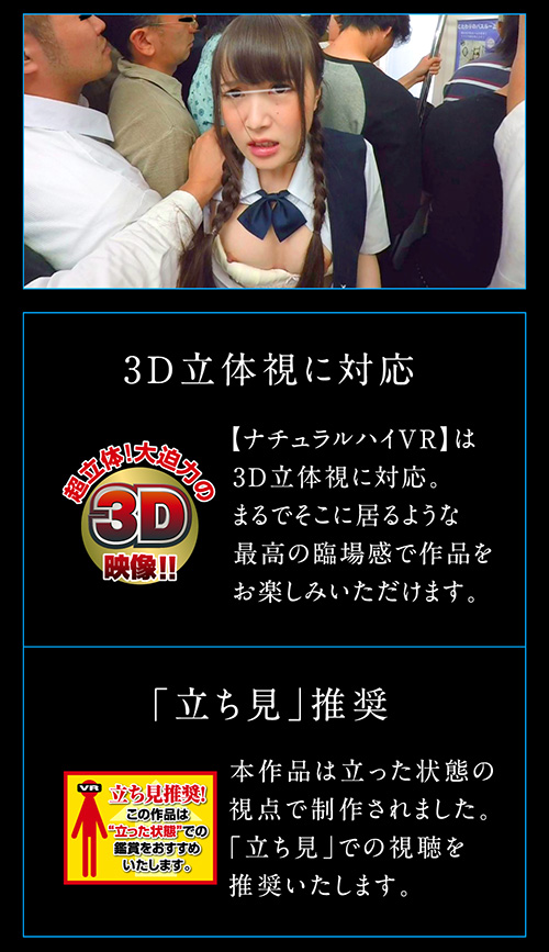 ナルチュラルハイ痴漢VR2